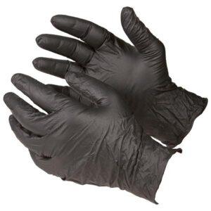 Pudrasız Nitril Eldiven Siyah M